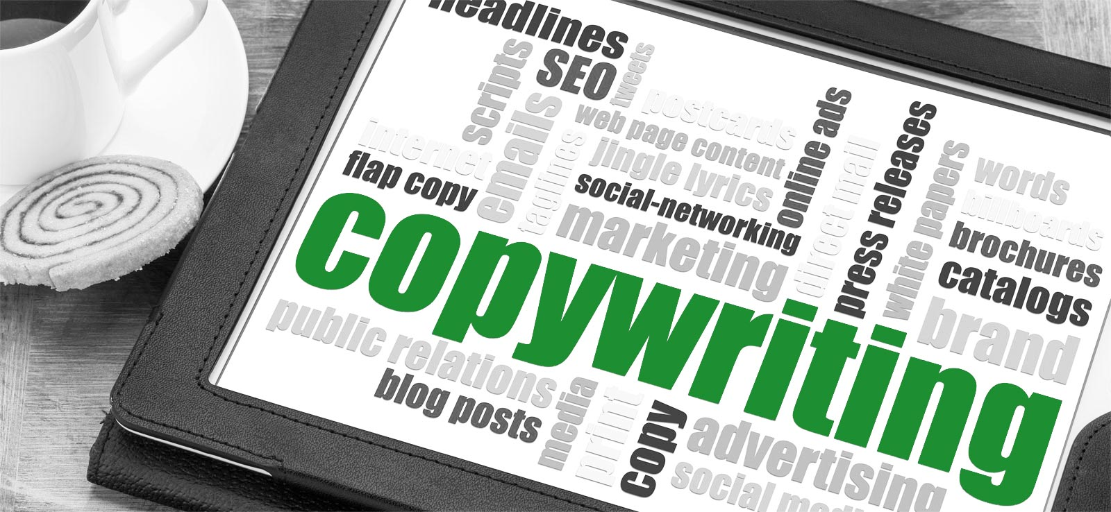 Copywriting and general writing service in Reading, Berkshire from Sabi Phagura